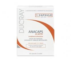 ducray anacaps concentrado 30 capsulas