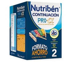 Nutriben 2 Pro Alfa Leche de Continuación 1200 gr Formato Ahorro