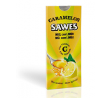 caramelos sawes limon s/a. blisters