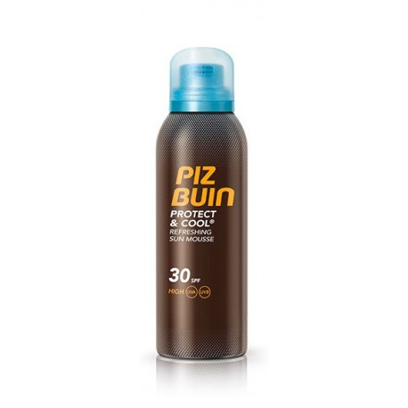 Piz Buin Protect & Cool FPS30 Mousse Solar 150ml