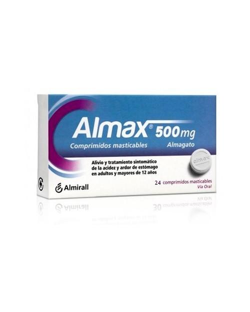 Almax 500mg 24 Comps