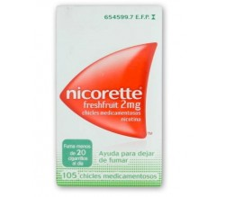 NICORETTE FRESHFRUIT (2 MG 105 CHICLES )