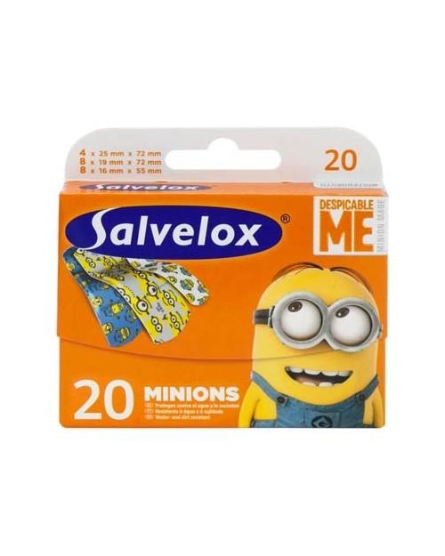 SALVELOX APÓSITO ADHESIVO MINIONS 20 UDS