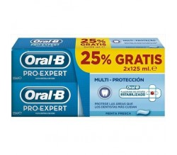 PASTA DENTÍFRICA ORAL-B PRO EXPERT. 2X125 ML