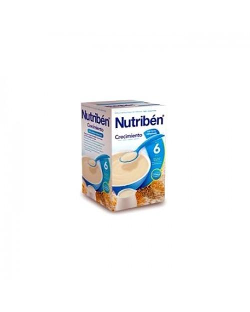 Nutribén® papilla crecimiento con leche adaptada 600g