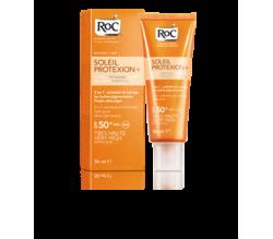 roc soleil protexion+ spf 50+ fluido facial anti 50 ml