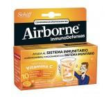 airbone 10 comprimidos efervescentes sabor naranja