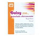 dalsy (200 mg 20 sobres efervescentes )