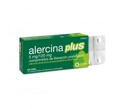 ALERCINA PLUS (5/120 MG 14 COMPRIMIDOS LIBERACION PROLONGADA )