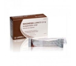 MAGNESIA LAINCO (2.4 G 14 SOBRES SUSPENSION ORAL 12 ML )