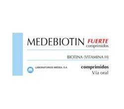 MEDEBIOTIN FUERTE (5 MG 40 COMPRIMIDOS )