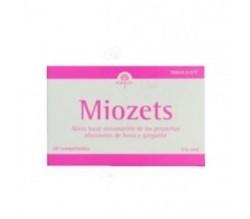 MIOZETS (20 COMPRIMIDOS PARA CHUPAR )
