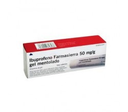 IBUPROFENO FARMASIERRA TOPICO (50 MG/G GEL TOPICO MENTOLADO 60 G )