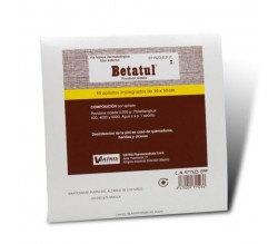 BETATUL (250 MG 10 APOSITOS )