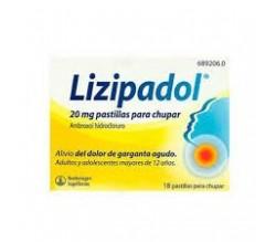 LIZIPADOL (20 MG 20 COMPRIMIDOS PARA CHUPAR )