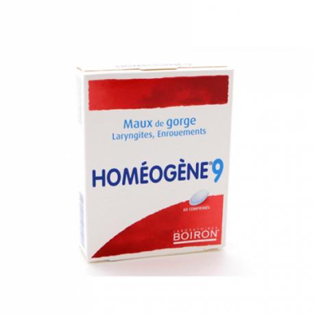 homeogene 9 60 comprimidos