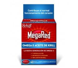 MEGARED 500 OMEGA 3 ACEITE DE KRILL 40 CAPSULAS
