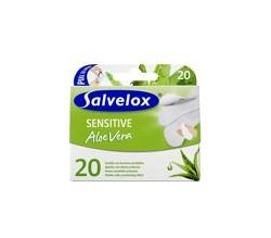 salvelox sensitive aloe vera 20 apositos