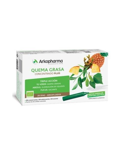 Arkopharma Quemagrasa Concentrado Plus 20 Días