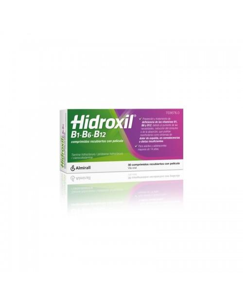HIDROXIL B1-B6-B12 Comp. recub. con película